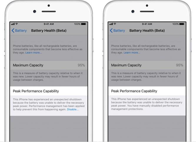 Cách kiểm tra pin chai và vô hiệu hóa tính năng giảm hiệu suất của iPhone ảnh 3
