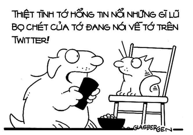 """Năm Tuất xem tranh biếm họa về những chú cún trên """"Phây"""" ảnh 4"""