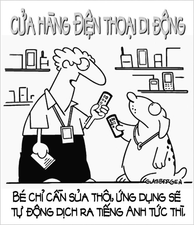 """Năm Tuất xem tranh biếm họa về những chú cún trên """"Phây"""" ảnh 6"""