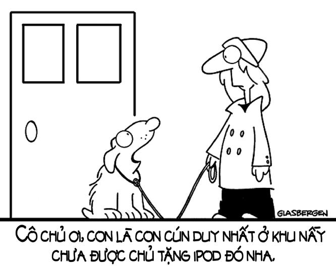 """Năm Tuất xem tranh biếm họa về những chú cún trên """"Phây"""" ảnh 7"""