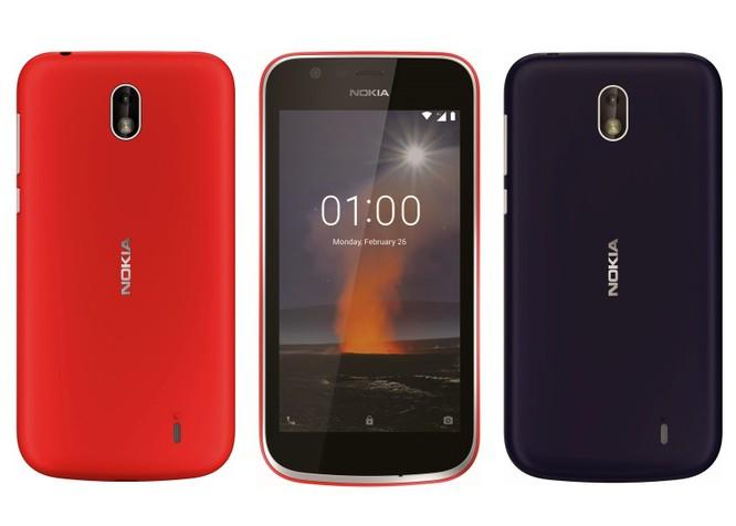 Nokia 1 và Nokia 7 Plus lộ diện ảnh 1
