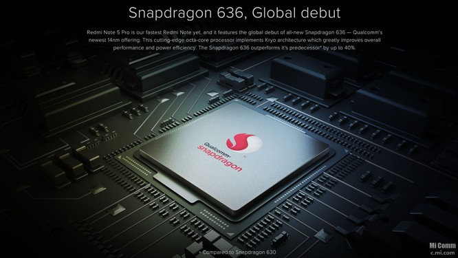 Xiaomi ra mắt Redmi Note 5 Pro ảnh 1