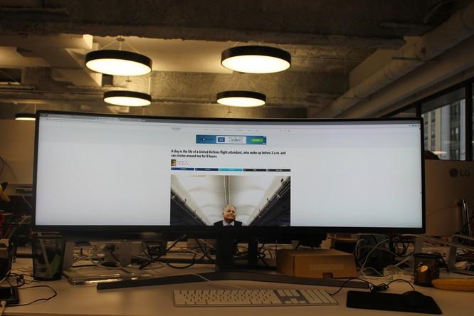 Website, YouTube và các ứng dụng sẽ hiển thị như thế nào trên màn hình siêu rộng này? ảnh 11