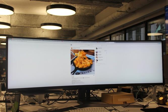 Website, YouTube và các ứng dụng sẽ hiển thị như thế nào trên màn hình siêu rộng này? ảnh 25