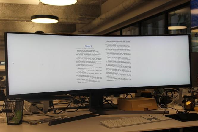 Website, YouTube và các ứng dụng sẽ hiển thị như thế nào trên màn hình siêu rộng này? ảnh 30