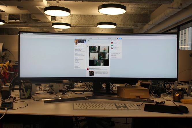 Website, YouTube và các ứng dụng sẽ hiển thị như thế nào trên màn hình siêu rộng này? ảnh 6