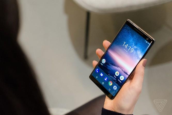 HMD ra mắt Nokia 8 Sirocco ảnh 1