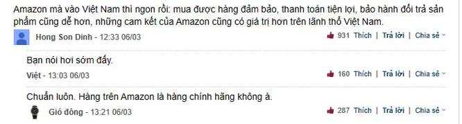 """Amazon chuẩn bị """"đổ bộ"""" vào Việt Nam, dân mạng nói gì? ảnh 1"""