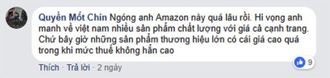 """Amazon chuẩn bị """"đổ bộ"""" vào Việt Nam, dân mạng nói gì? ảnh 2"""