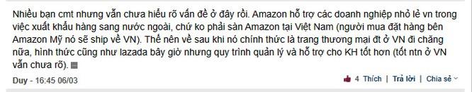 """Amazon chuẩn bị """"đổ bộ"""" vào Việt Nam, dân mạng nói gì? ảnh 3"""