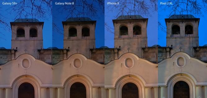 Chụp đêm với iPhone X, S9+, Pixel 2 XL và Note 8: Bạn thấy smartphone nào chụp đẹp hơn? ảnh 10