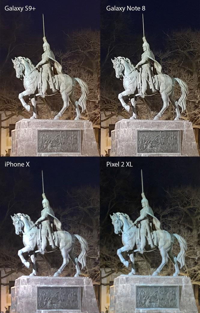 Chụp đêm với iPhone X, S9+, Pixel 2 XL và Note 8: Bạn thấy smartphone nào chụp đẹp hơn? ảnh 20