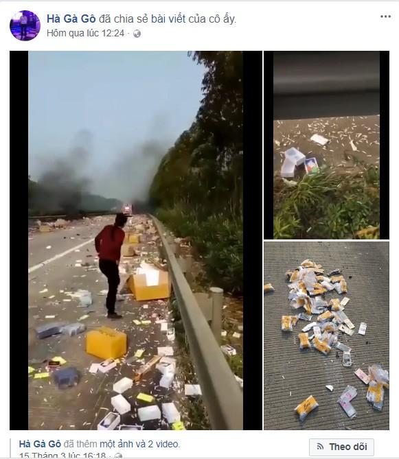 Xe chở iPhone nhập lậu về Việt Nam phát nổ, iPhone văng tung tóe ảnh 1