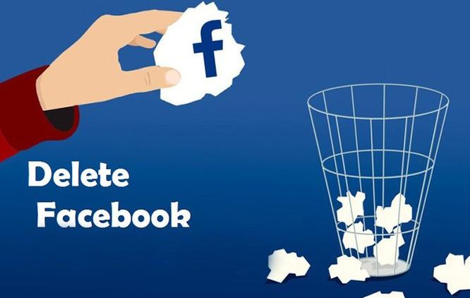 Cách xóa tài khoản Facebook hưởng ứng lời kêu gọi #DeleteFacebook