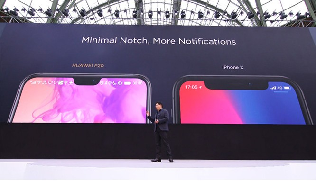 """Huawei P20 và P20 Pro ra mắt: Camera vượt trội Galaxy S9+, iPhone X càng không """"có cửa"""" ảnh 1"""