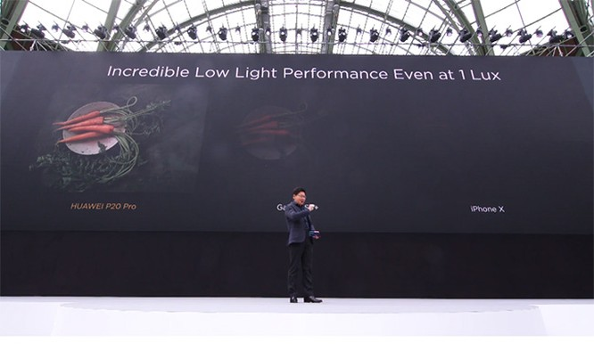 """Huawei P20 và P20 Pro ra mắt: Camera vượt trội Galaxy S9+, iPhone X càng không """"có cửa"""" ảnh 4"""