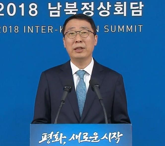 Toàn cảnh cuộc gặp lịch sử giữa Chủ tịch Triều Tiên Kim Jong Un và Tổng thống Hàn Quốc Moon Jae In ảnh 24