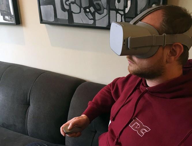 Trải nghiệm kính thực tế ảo Oculus Go mà Facebook vừa ra mắt ảnh 11
