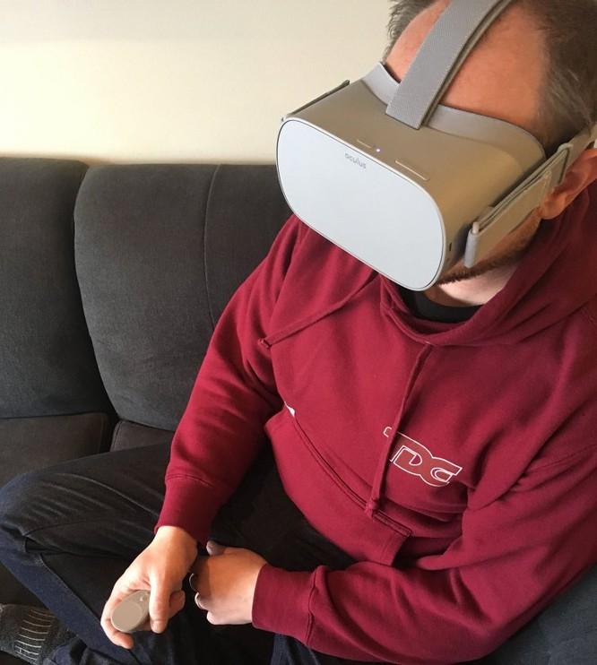 Trải nghiệm kính thực tế ảo Oculus Go mà Facebook vừa ra mắt ảnh 1