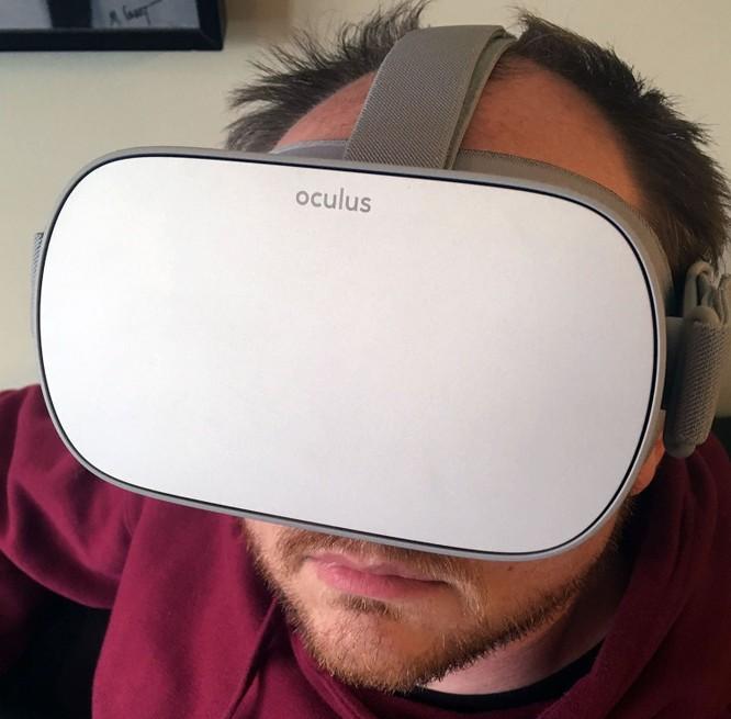 Trải nghiệm kính thực tế ảo Oculus Go mà Facebook vừa ra mắt ảnh 8