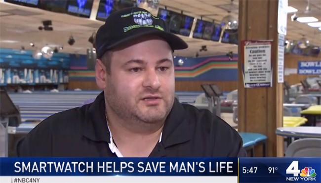 Bác sỹ cho biết đồng hồ thông minh Apple đã cứu mạng một người đàn ông ảnh 1