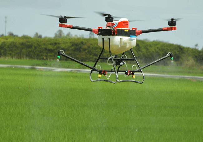 Máy bay điều khiển từ xa phun thuốc trừ sâu có phải là Nông nghiệp 4.0? ảnh 2