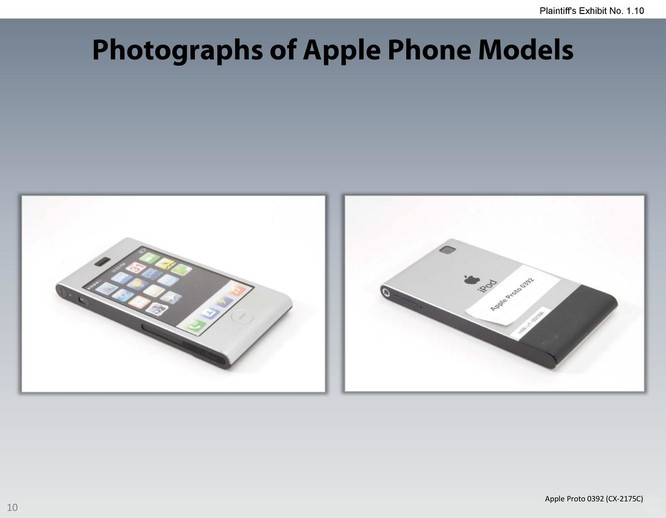Chiêm ngưỡng các mẫu thiết kế iPhone lạ mắt được Apple đệ trình tại tòa án để kiện Samsung ảnh 9