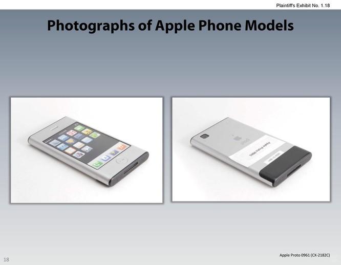 Chiêm ngưỡng các mẫu thiết kế iPhone lạ mắt được Apple đệ trình tại tòa án để kiện Samsung ảnh 17