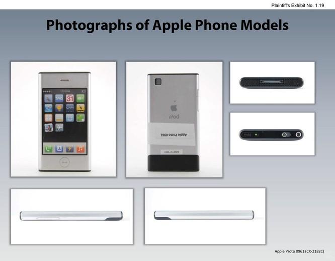Chiêm ngưỡng các mẫu thiết kế iPhone lạ mắt được Apple đệ trình tại tòa án để kiện Samsung ảnh 18