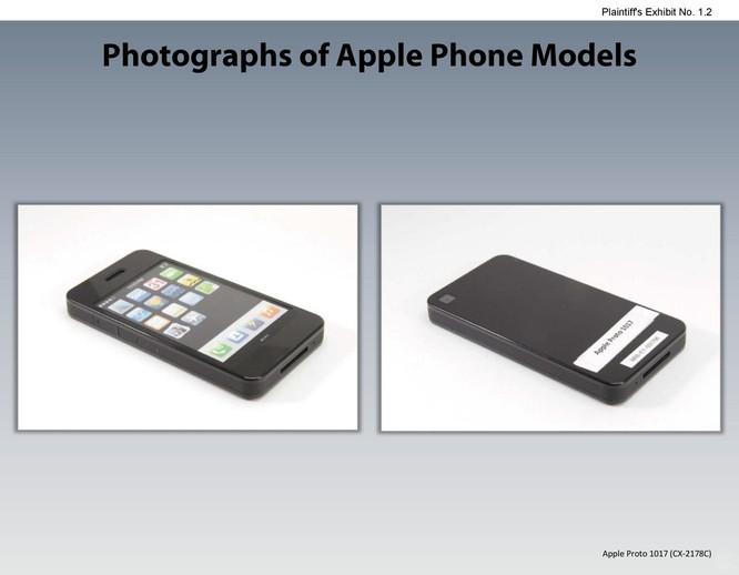 Chiêm ngưỡng các mẫu thiết kế iPhone lạ mắt được Apple đệ trình tại tòa án để kiện Samsung ảnh 1