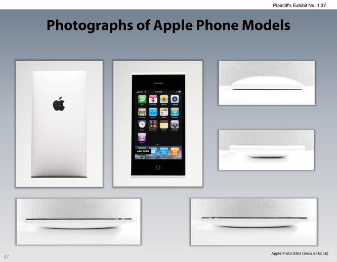Chiêm ngưỡng các mẫu thiết kế iPhone lạ mắt được Apple đệ trình tại tòa án để kiện Samsung ảnh 36