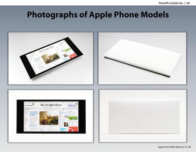 Chiêm ngưỡng các mẫu thiết kế iPhone lạ mắt được Apple đệ trình tại tòa án để kiện Samsung ảnh 37
