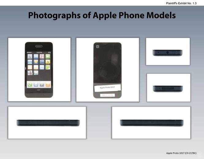 Chiêm ngưỡng các mẫu thiết kế iPhone lạ mắt được Apple đệ trình tại tòa án để kiện Samsung ảnh 2