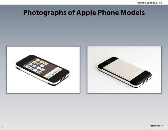 Chiêm ngưỡng các mẫu thiết kế iPhone lạ mắt được Apple đệ trình tại tòa án để kiện Samsung ảnh 7