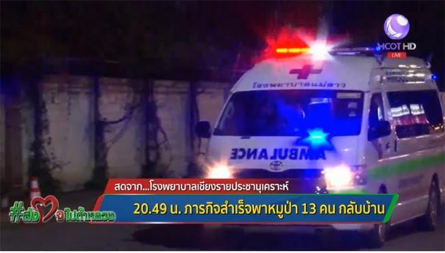 Toàn bộ đội bóng thiếu niên Thái Lan đã được giải cứu thành công: khép lại 3 ngày nỗ lực của các nhân viên cứu hộ ảnh 23