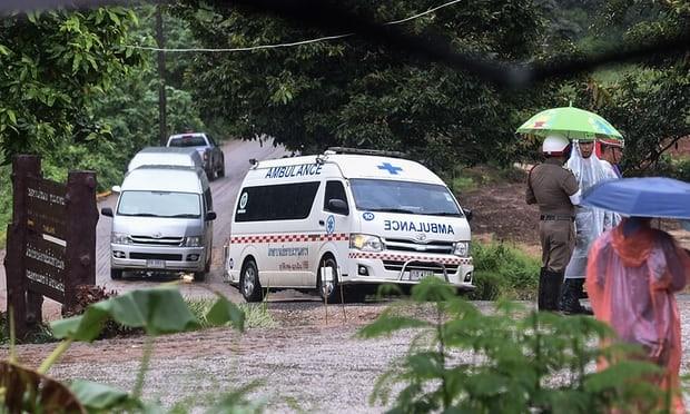 Toàn bộ đội bóng thiếu niên Thái Lan đã được giải cứu thành công: khép lại 3 ngày nỗ lực của các nhân viên cứu hộ ảnh 11