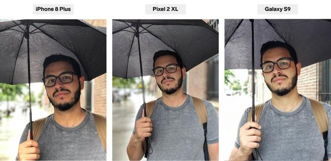 iPhone 8 Plus, Pixel 2 XL và Galaxy S9+: bạn thấy smartphone nào chụp chân dung đẹp hơn? ảnh 2