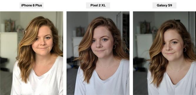 iPhone 8 Plus, Pixel 2 XL và Galaxy S9+: bạn thấy smartphone nào chụp chân dung đẹp hơn? ảnh 6