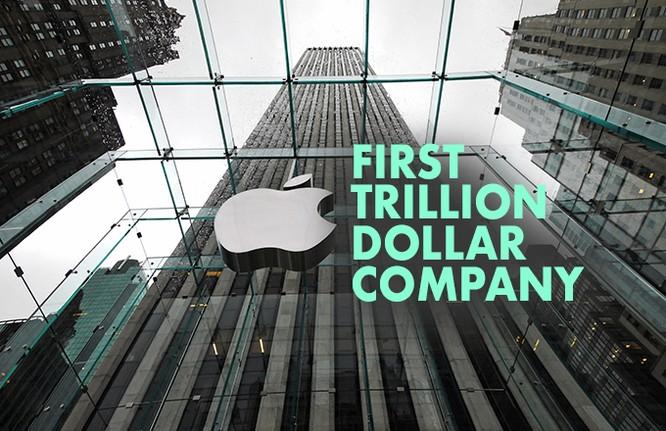 Apple trở thành công ty đại chúng nghìn tỷ USD đầu tiên trên thế giới