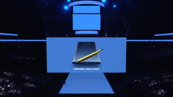 Galaxy Note 9 đã ra mắt cùng với đồng hồ thông minh Galaxy Watch và loa thông minh Galaxy Home ảnh 9