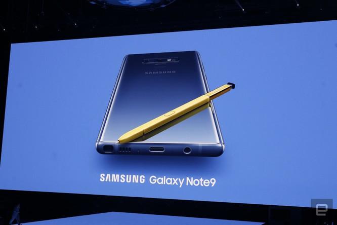 Galaxy Note 9 đã ra mắt cùng với đồng hồ thông minh Galaxy Watch và loa thông minh Galaxy Home ảnh 13