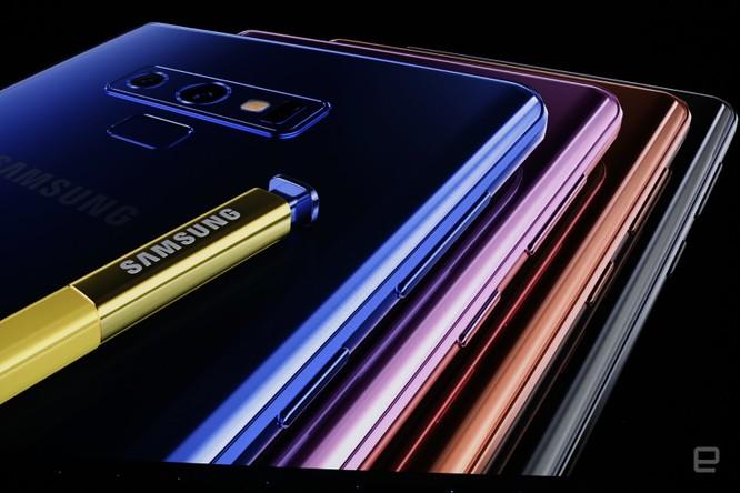Galaxy Note 9 đã ra mắt cùng với đồng hồ thông minh Galaxy Watch và loa thông minh Galaxy Home ảnh 16
