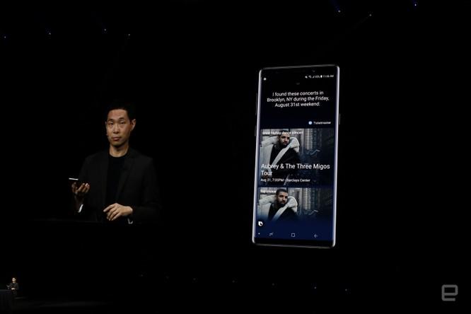Galaxy Note 9 đã ra mắt cùng với đồng hồ thông minh Galaxy Watch và loa thông minh Galaxy Home ảnh 41