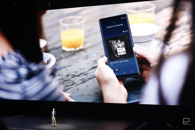 Galaxy Note 9 đã ra mắt cùng với đồng hồ thông minh Galaxy Watch và loa thông minh Galaxy Home ảnh 51