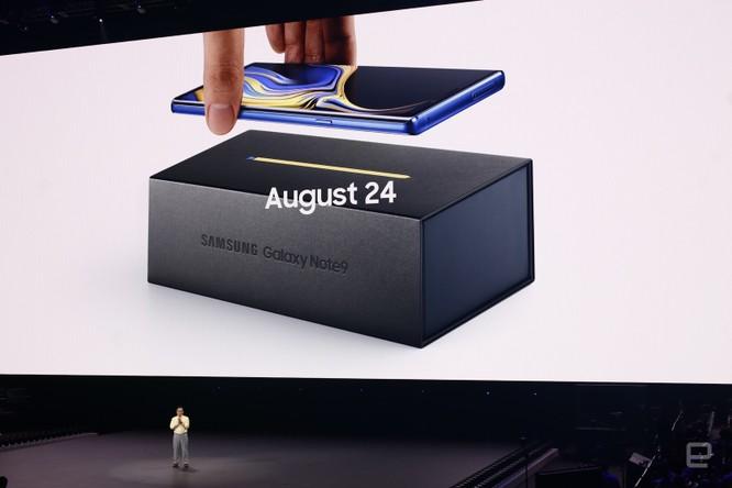 Galaxy Note 9 đã ra mắt cùng với đồng hồ thông minh Galaxy Watch và loa thông minh Galaxy Home ảnh 53