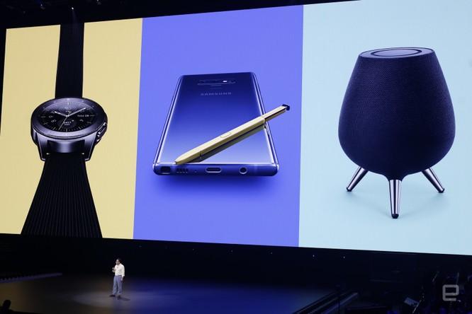 Galaxy Note 9 đã ra mắt cùng với đồng hồ thông minh Galaxy Watch và loa thông minh Galaxy Home ảnh 54
