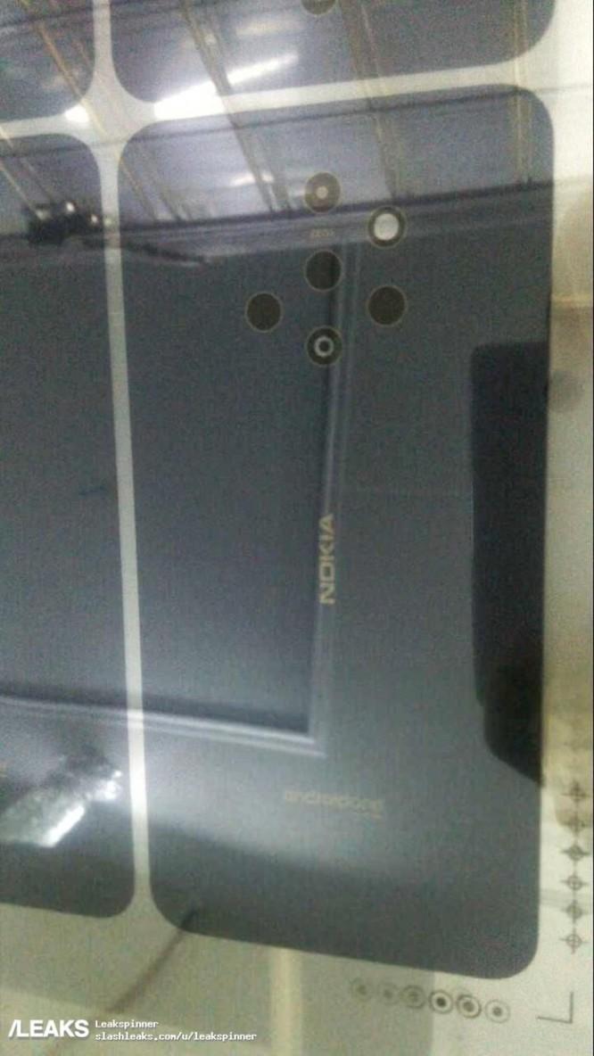 Xuất hiện smartphone nghi là Nokia 9 với kết cấu camera kỳ cục ảnh 1