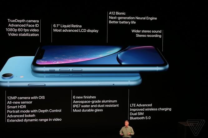 Bộ 3 iPhone 2018 đã ra mắt: không có nhiều khác biệt với tin đồn, nhiều màu sắc, giá khởi điểm từ 749 USD ảnh 69