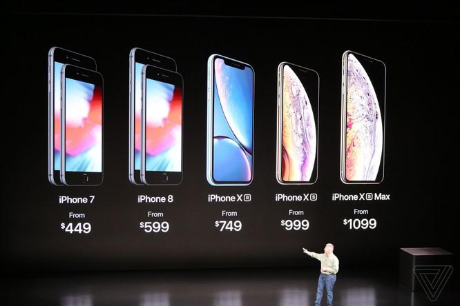 Bộ 3 iPhone 2018 đã ra mắt: không có nhiều khác biệt với tin đồn, nhiều màu sắc, giá khởi điểm từ 749 USD ảnh 74