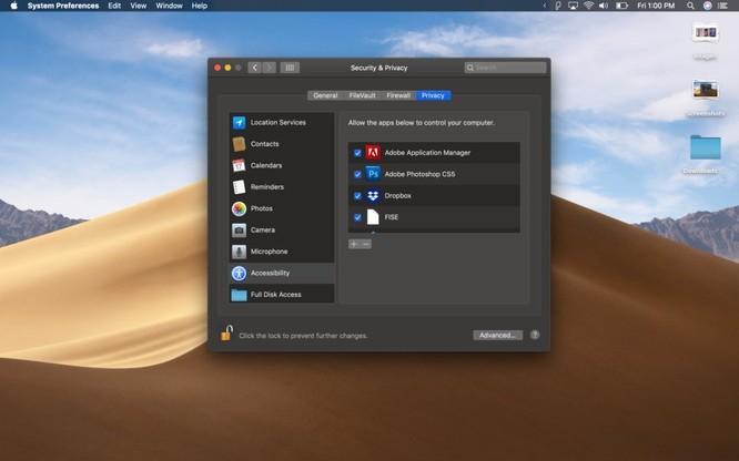 Cách khắc phục tình trạng một số app không chạy được khi cập nhật lên MacOS Mojave ảnh 7